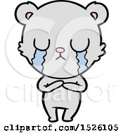 Cartoon Bear Crying