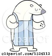 Cartoon Polar Bear Chef