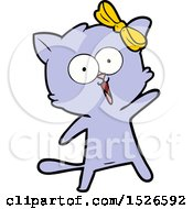 March 15th, 2018: Cartoon Cat by lineartestpilot