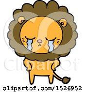 Crying Cartoon Lion