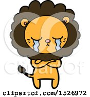 Crying Cartoon Lion