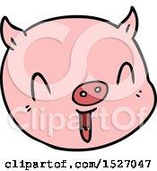 Cartoon Pig Face