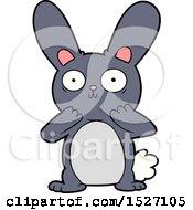 Cartoon Shocked Rabbit