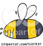 Cartoon Crying Bee