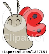 Poster, Art Print Of Funny Cartoon Butterfly