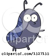 Funny Cartoon Beetle