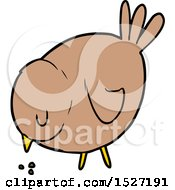 Cartoon Pecking Bird