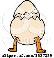 Cartoon Hatching Egg by lineartestpilot