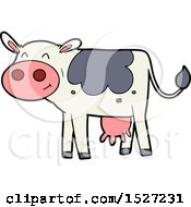 Cartoon Cow by lineartestpilot