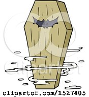 Cartoon Spooky Coffin by lineartestpilot