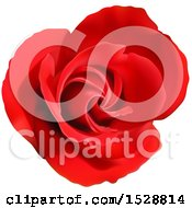 Poster, Art Print Of Blooming Red Rose Flower