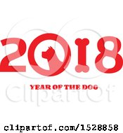 Chinese New Year 2018 With A Dog