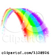 Clipart Of A Magical Colorful Rainbow Arch Royalty Free Vector Illustration