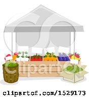 Farmers Market Produce Vendor Stand