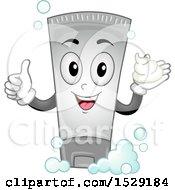 Shampoo Bottle Character Giving A Thumb Up