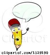Pencil Character Talking
