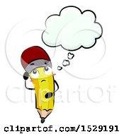 Pencil Character Thinking
