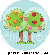 Fruit Tree Agriculture Icon