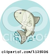 Farmed Fish Aquaculture Agriculture Icon