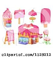 Pink Dessert Design Elements