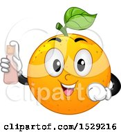 Happy Navel Orange Character Spraying Fragrance