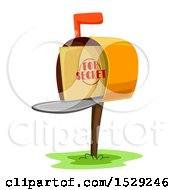 Top Secret Envelope In A Mailbox