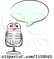 Microphone Character Talking