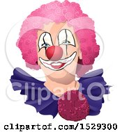 Clown With A Pink Wig