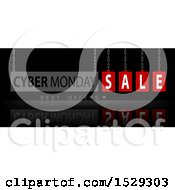 Cyber Monday Sale Design On Black