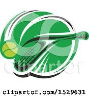 Tennis Racket And Ball Design