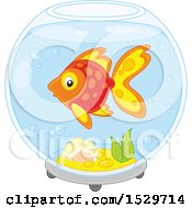 Pet Fish In A Bowl