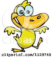 Poster, Art Print Of Happy Yellow Duck