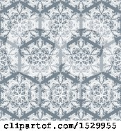 Vintage Styled Hexagon Pattern