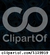 Clipart Of A Background Of Abstract Topographic Lines Royalty Free Vector Illustration
