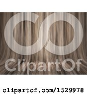 3d Curving Wood Background