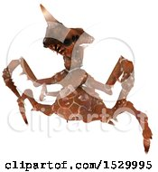 Poster, Art Print Of 3d Roaring Monster Or Insect