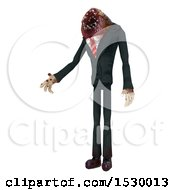 Poster, Art Print Of 3d Professional Parasite Holding Out A Hand