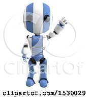 3d Ao Maru Robot Waving
