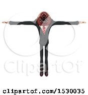 3d Professional Parasite In A T Pose