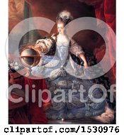 Illustration Of Queen Marie Antoinette