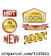 Poster, Art Print Of Sale Labels