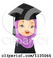 Happy Female Muslim Graduate