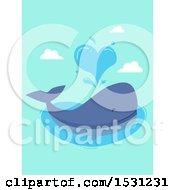 Whale Spouting A Heart
