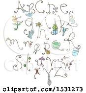 Poster, Art Print Of Gardening Alphabet