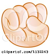 Poster, Art Print Of Fisted Emoji Hand