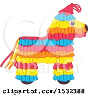 Clipart Of A Cinco De Mayo Pinata Design Royalty Free Vector Illustration by Vector Tradition SM