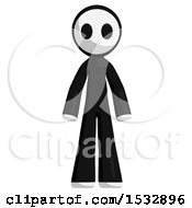 Clipart Of A Maskman Royalty Free Illustration