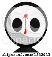 Maskman Avatar Shot And Bleeding In The Head