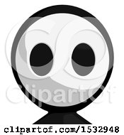 Clipart Of A Maskman Avatar Royalty Free Illustration