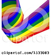 Poster, Art Print Of Lgbtq Rainbow Flag Background